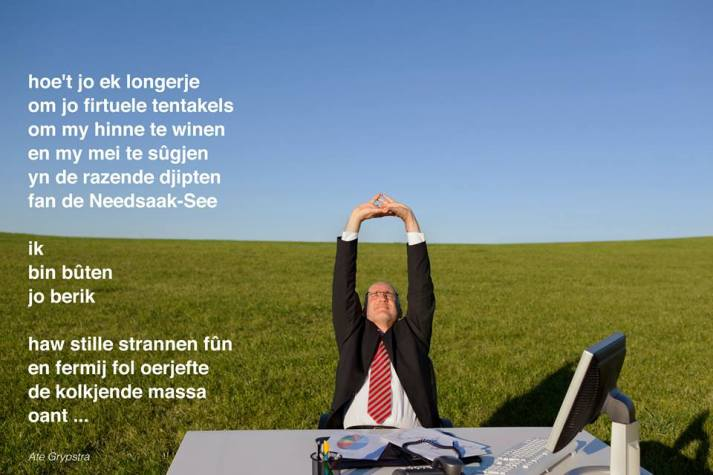 Super Ben er even niet - Friese out-of-office poëzie - Tsead Bruinja &IS57