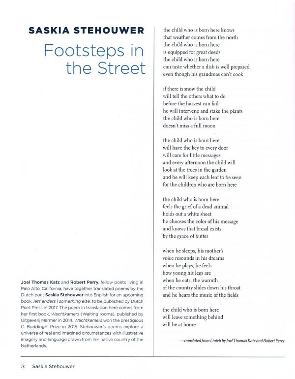 Footsteps in the Street - Saskia Stehouwer - Tsead Bruinja